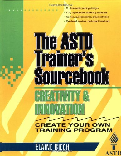 Creativity Innovation Trainers Sourcebook McGraw Hill