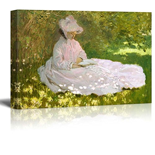 Springtime by Claude Monet Impressionist Art