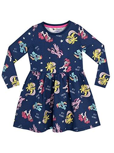 My Little Pony Girls' Unicorn Ponies Dress Size 5 Blue]()