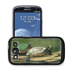 Animals Turtles Lovers Pool Pond Samsung I9300 Galaxy S3 Snap Cover Premium Aluminium Design Back Plate Case Customized Made to Order Support Ready 5 3/8 inch (136mm) x 2 7/8 inch (73mm) x 7/16 inch (11mm) MSD Galaxy_S3 Professional Metal Cases Touch Acce