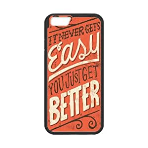 iPhone 6 4.7 Inch Cell Phone Case Black quotes sayings 4 U8M5PB