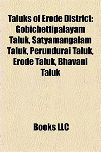 Amazon in: Buy Taluks of Erode District Book Online at Low Prices in