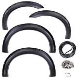 Yescom Automotive Fender Flares for 1999-2007 FORD F-250/ F-350 SUPER DUTY 4pcs w/ Rubber Seal Strip by Yescom
