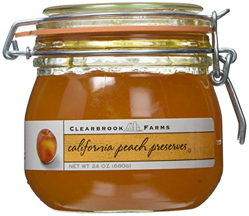 Peach Jam - Clearbrook Farms California Peach Preserves