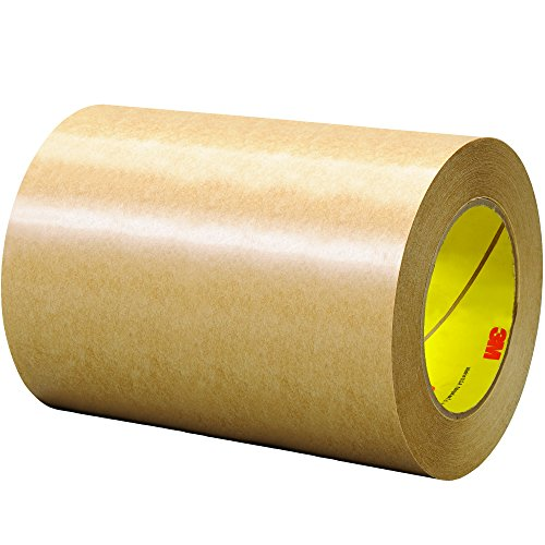 3M T96064651PK Clear #465 Adhesive Transfer Tape, Hand Rolls, 6