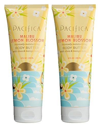 Pacifica Malibu Lemon Blossom Body Butter  with Shea Butter,