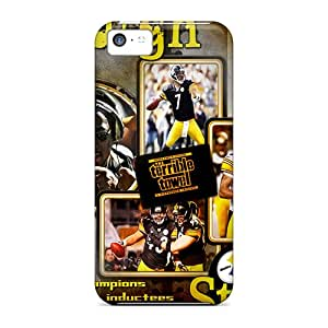 MansourMurray Iphone 5c Excellent Cell-phone Hard Cover Unique Design Fashion Pittsburgh Steelers Skin [unM6393Yiuy]