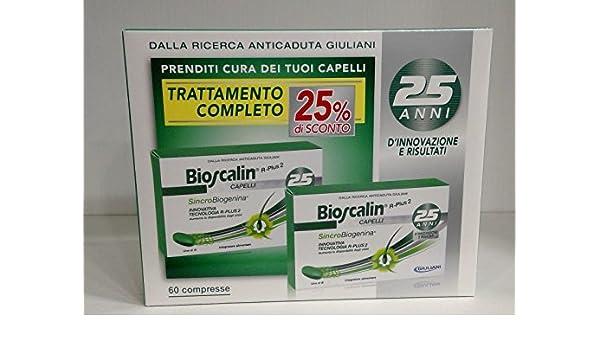 Bioscalin R-plus Sincrobiogenina Nueva Formula - 60 comprimidos: Amazon.es: Belleza
