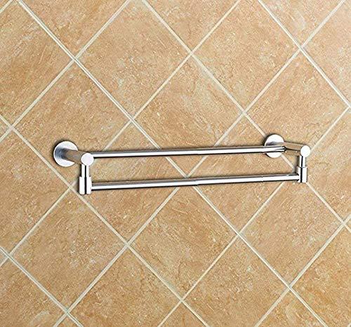 CYHWDHW Inicio Espacio para baño Sin Perchero de Aluminio ...