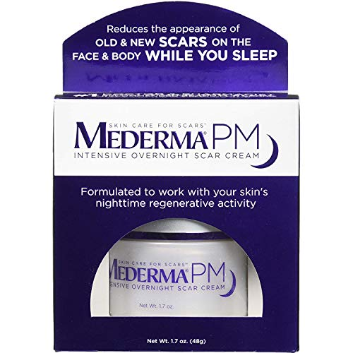 Mederma PM Intensive Overnight Scar Cream 1.7 oz Pack of 2