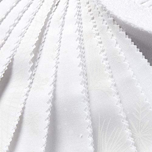 Solitaire Whites Soft White 40 2.5-inch Strips Jelly Roll Maywood Studio