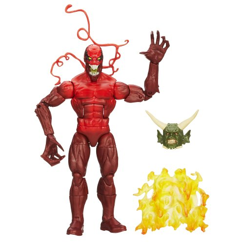 Spider-Man Marvel The Amazing Spider-Man 2 Marvel Legends Infinite Series Spawn of Symbiotes Action Figure Toxin, 6 Inches