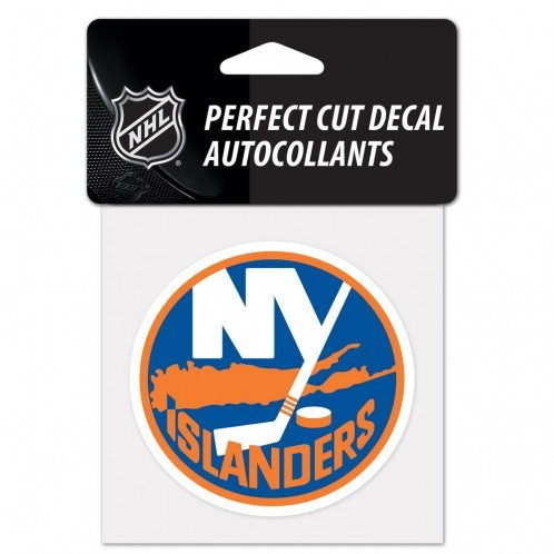 WinCraft NHL New York Islanders Perfect Cut Color Decal, 4