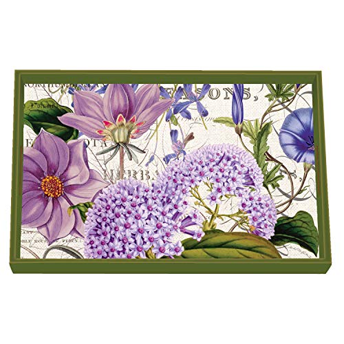 (Michel Design Works Vanity Decoupage Wooden Tray, Rhapsody)