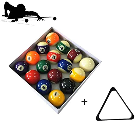 Snooker ball Billar Americano De 16 Colores Bola Grande 5.72cm ...