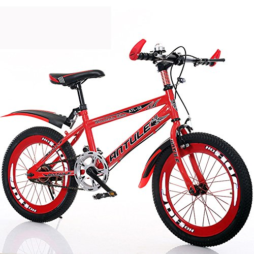 YXGH- Children Bicycle 6-7-8-9-10-11-12-15 Years Old Baby Carriage Boy 20/22 Inch Pupils Mountain Bike (Color : Red, Size : 22