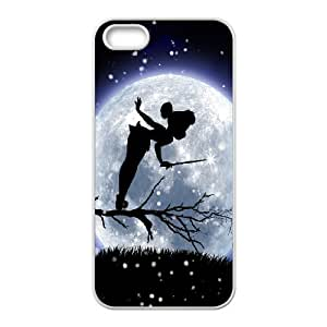 Cute Tinker Bell Design TPU Case Protective Skin for iPhone 5 5S AML774188