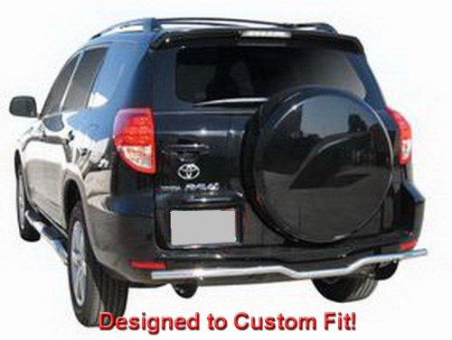 TYGER Custom Fit 06-12 Toyota Rav 4 Stainless Steel Rear Bumper Guard Nerf Push Bar (Mounting Hardware included)