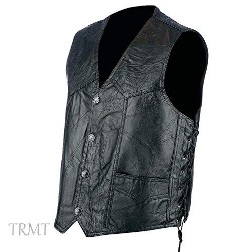 Unisex Leather Vest - 7