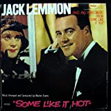 JACK LEMMON SINGS AND PLAYS SOME LIKE IT HOT vinyl record