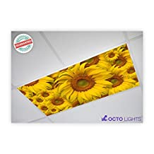 Flower 001 2x4 Flexible Fluorescent Light Cover