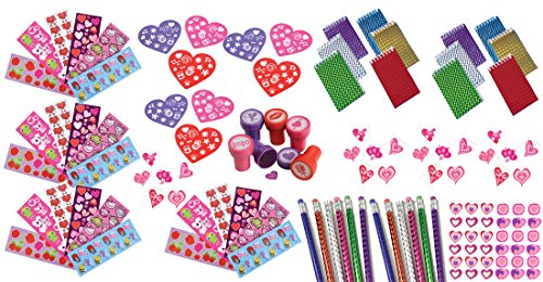100-Piece-Bulk-Valentine-Themed-Party-Favor-and-Activity-Kit-Assortment-for-Parties-or-Classroom