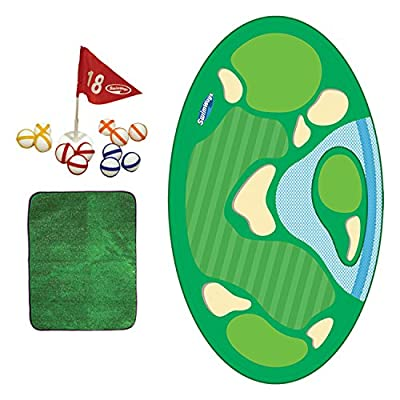 SwimWays Pro-Chip Spring Golf Floating Pool Game: Toys & Games