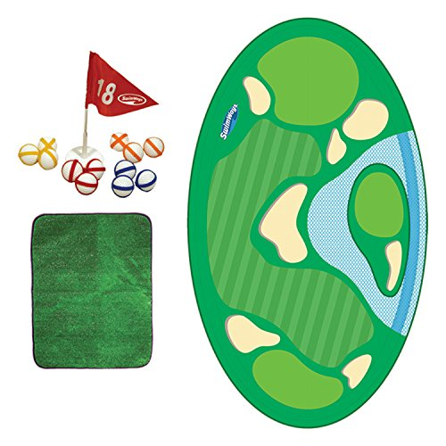 (SwimWays Pro-Chip Spring Golf Floating Pool Game)