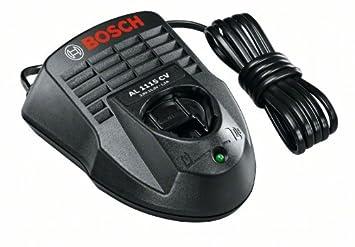 Bosch Home and Garden 1.600.Z00.03P Cargador para baterías, 12 V, Negro