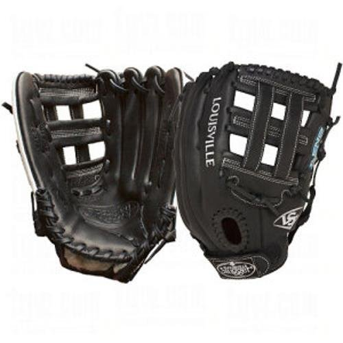 Louisville Slugger 12.5-inch FG Xenoソフトボール内野手グローブ B00FFJT5H0ブラック