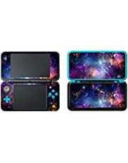 UUShop Protective Vinyl Skin Sticker Cover Wrap for New 2DS XL/LL Galaxy Nebula 26