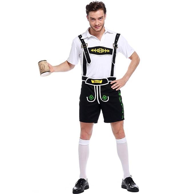 Amazon.com: lserver Hombres alemán bávara Oktoberfest ...
