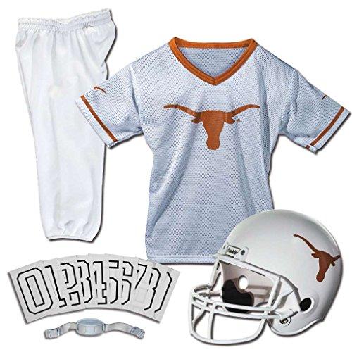 low priced 1f93d 85d67 Franklin Sports NCAA Texas Longhorns Deluxe Youth Team Uniform Set, Medium