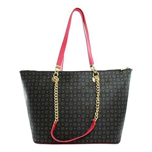 fuxia Shopping Donna Pollini Co Borsa Tapiro Nero Bag Te8410 xYqz6wzC