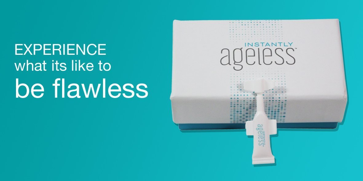 Instantly Ageless by Jeunesse X 2 vials 0.6mls each UK DISTRIBUTOR