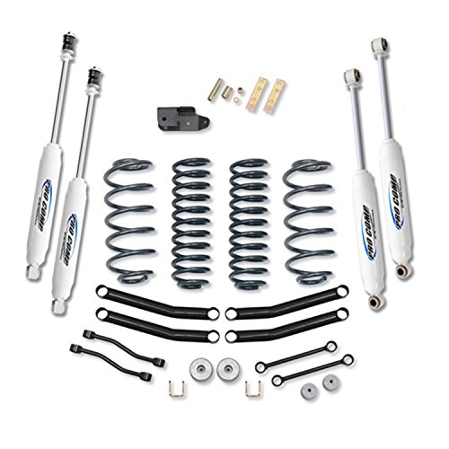 "Pro Comp 4"" Lift Kit with Coils and ES3000 Shocks for Jeep TJ Wrangler K3056B"