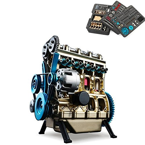 Laliva Learning & Education – Teching Four-Cylinder Engine Full Aluminum Alloy Model Collection