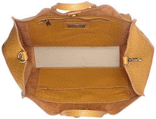 Cm 8622 H Donna 46x34x16 A Marrone Borse L tan w Chicca Borsa Spalla X v0ZxRgw