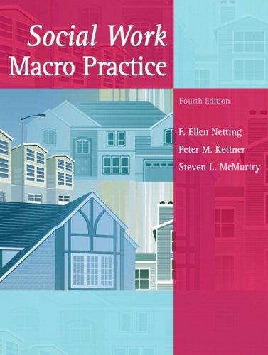 Social Work Macro Practice (4th Edition)
