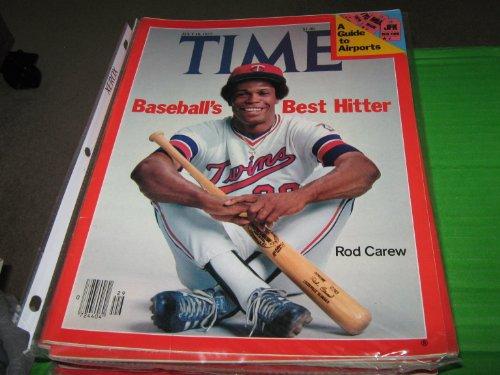 Time Magazine July 18 1977 Baseball's Best Hitter  Rod Carew