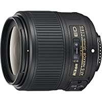 Nikon AF-S FX NIKKOR 35mm f/1.8G ED Fixed Zoom Lens with Auto Focus for Nikon DSLR Cameras (Certified Refurbished)