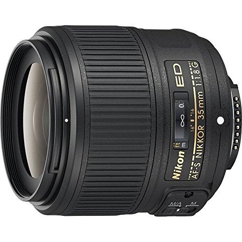 Nikon AF-S FX NIKKOR 35mm f/1.8G ED Fixed Zoom Lens with Auto Focus for Nikon DSLR Cameras (Certified Refurbished)