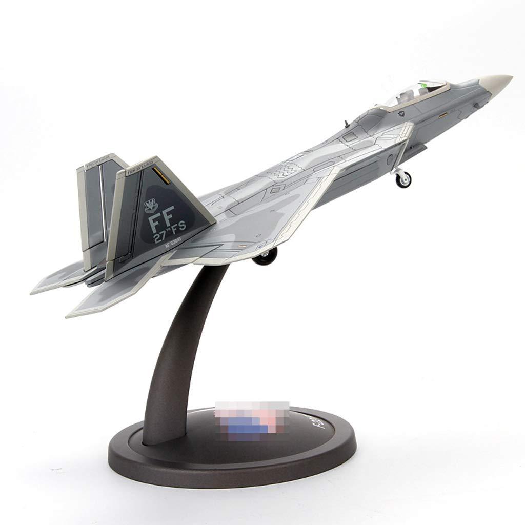 autorización Zhizaibide Modelo de Juguete para para para Adultos, Modelo de aleación Fighter Raptor, estática, aviación, decoración de aeronaves   Regalos   Manualidades   Regalos navideños  la red entera más baja