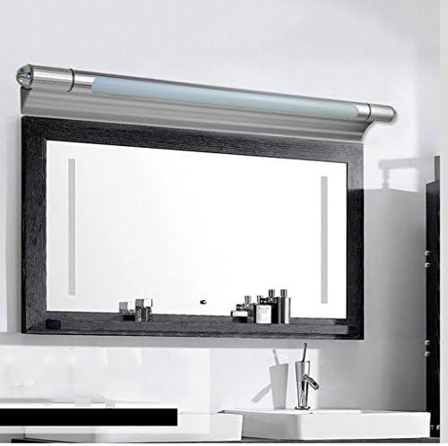 Bad Spiegelleuchten LED Spiegel Front Ligh, moderne minimalistische Badezimmer Spiegel Licht WC Vanity Make-up Wandleuchte verstellbaren Lochabstand