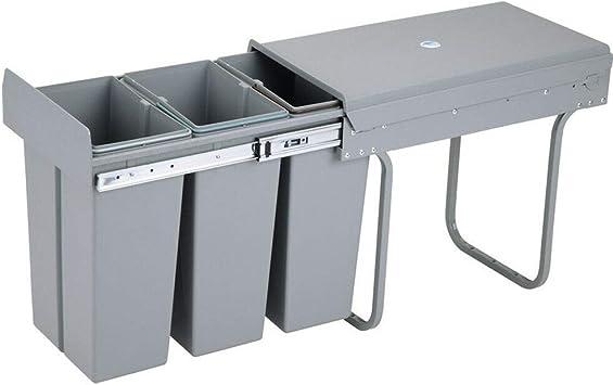 Einbaumülleimer Einbau Abfallsammler Platzsparendes Vollauszug Küchen Mülleimer