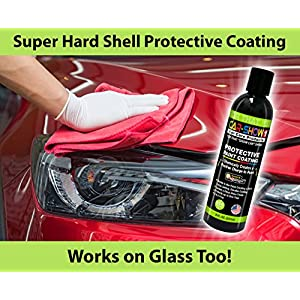 CAR-SHOW 1 - Polymer Paint Sealant Kit, Microfiber Towel and Foam Applicator Included - Made in USA