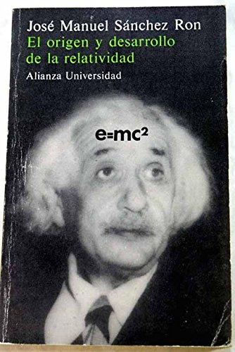 El origen y desarrollo de la relatividad: Amazon.es: Sanchez ...