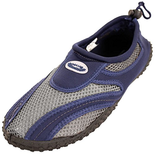 Easy USA Men's Slip on Aqua Socks Water Shoes