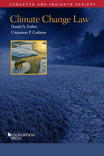 Climate Change Law (Concepts and Insights)