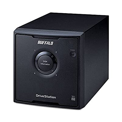 BUFFALO DriveStation Quad High Performance RAID Array with Optimized Hard Drives (HD-QH12TU3R5) by BUFFALO